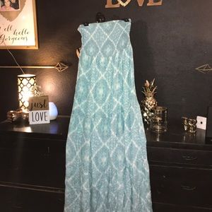 Maurice's strapless dress size large